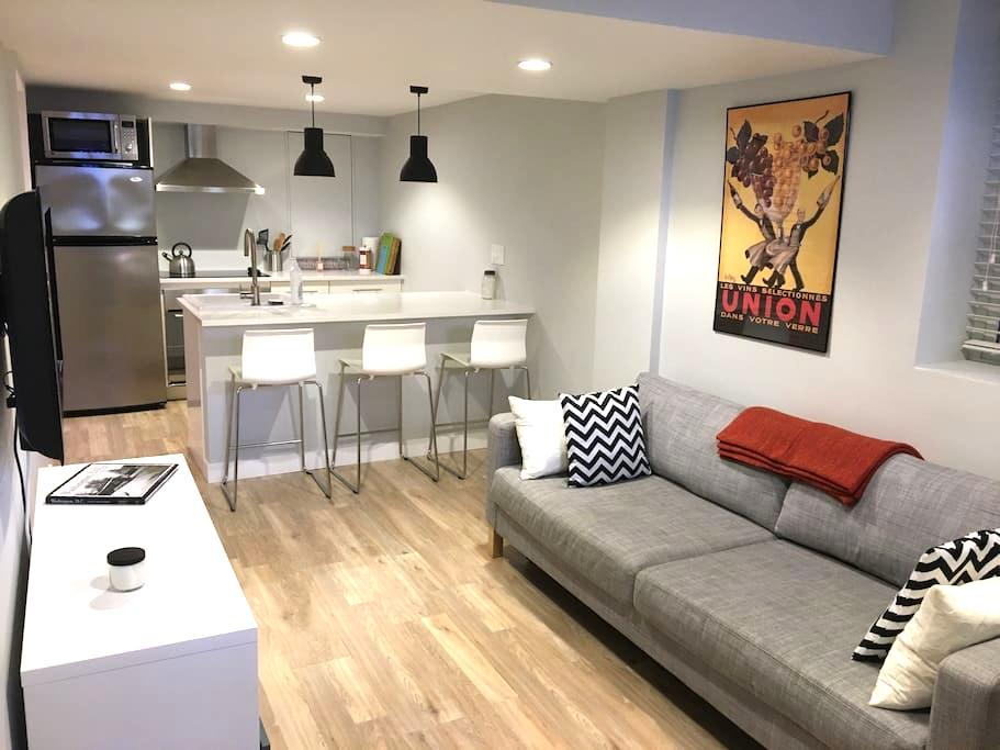 New modern DC apt. with parking - Washington - Byt