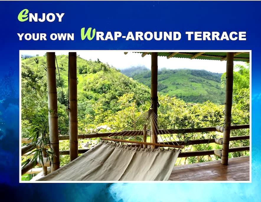 Chirripo & Cloudbridge Nature Reserve &Unique Yurt - Rivas - Hus