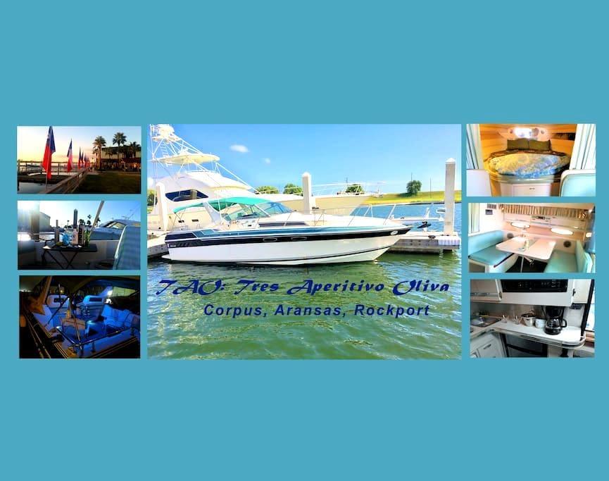 """TAO"", A 32' Yacht at Corpus Christi Marina - Corpus Christi"