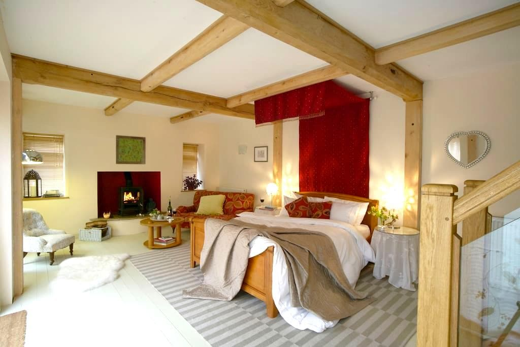 Abbots Lodge Bed and Breakfast - Wigmore - Oda + Kahvaltı