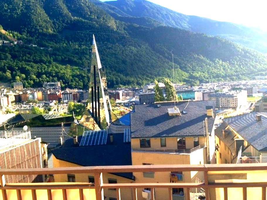 Andorra's Balcony Wifi II - Les Escaldes - Byt