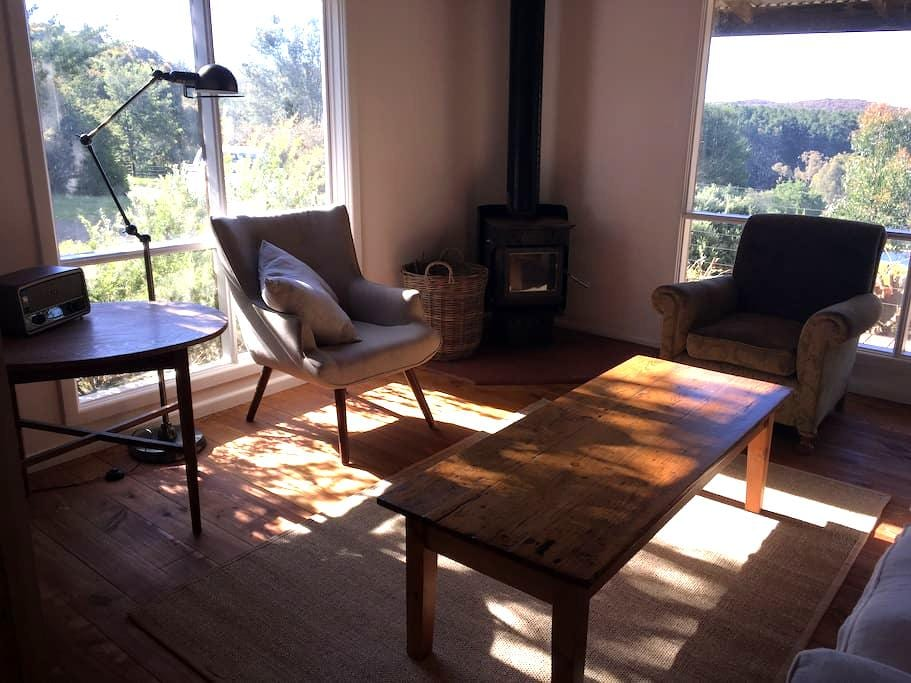 Wild Duck Cabin- solitude, space and views - Glenlyon - Cabin