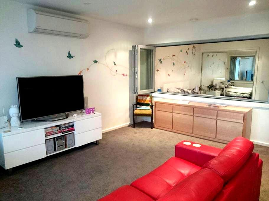Fun one bedroom apartment :) - Braddon