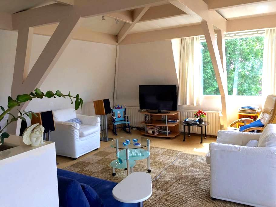 City Penthouse near the Central Train station. - 's-Hertogenbosch - Apartmen