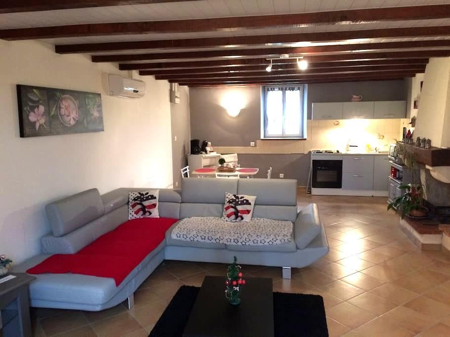 Appartement dans ferme Lauragaise - Montesquieu Lauragais - Hus