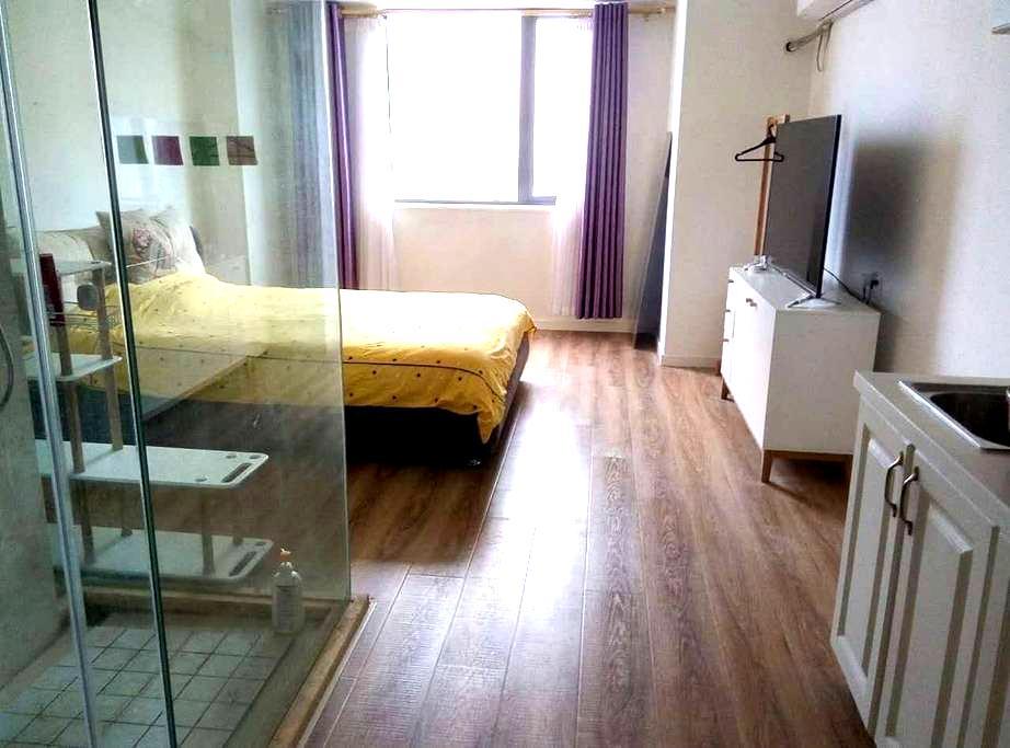 南湖旅游好去处,万达广场旁的精装单身公寓 - 嘉兴 - Apartment