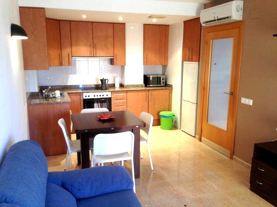 My apartment in the heart of the Ebro River Delta. - Deltebre - Wohnung