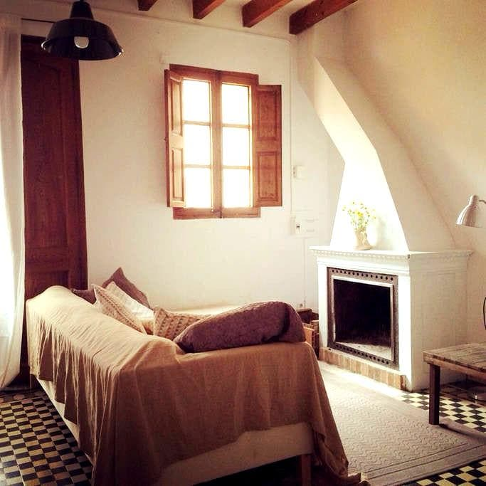 Cozy peaceful village house - S'Arracó