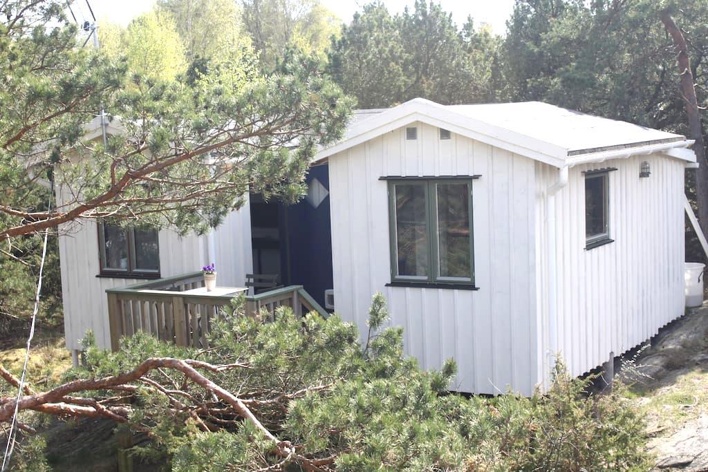 Stuga nära havet på svenska västkusten - Kungsbacka S - 小木屋