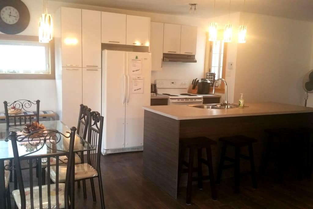 3 bdr appartment near attractions - Quebec - Apartamento