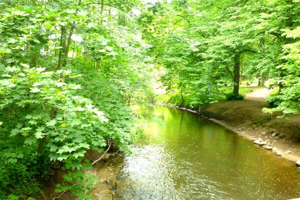 kinderfreundliche Unterkunft mit großem Garten - Bad Oldesloe