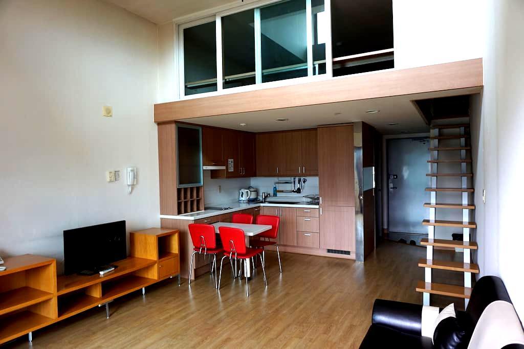 공기좋은 평창 휘닉스파크 리조트 2분거리에 있는 저렴하고 깔끔한 아파트형 콘도 - Bongpyeong-myeon, Pyeongchang-gun - 公寓