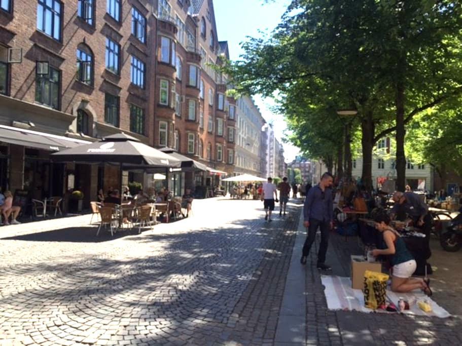 In the heart of fantastic Nørrebro - Kööpenhamina - Huoneisto