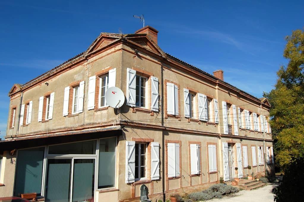 Chateau de Faudade Apt upto 6 pple - Lévignac - Κάστρο