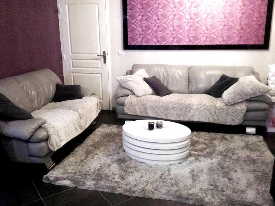 Chambre privée, petit déjeuner dans un agréable T4 - Grenoble - Apartemen