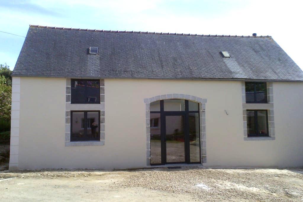 La grange de Kerdanet - Plonéis - House