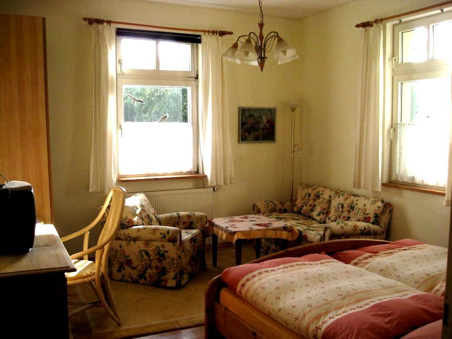 Mitten in der Stadt und doch ruhig gelegen - Coburg - Apartment