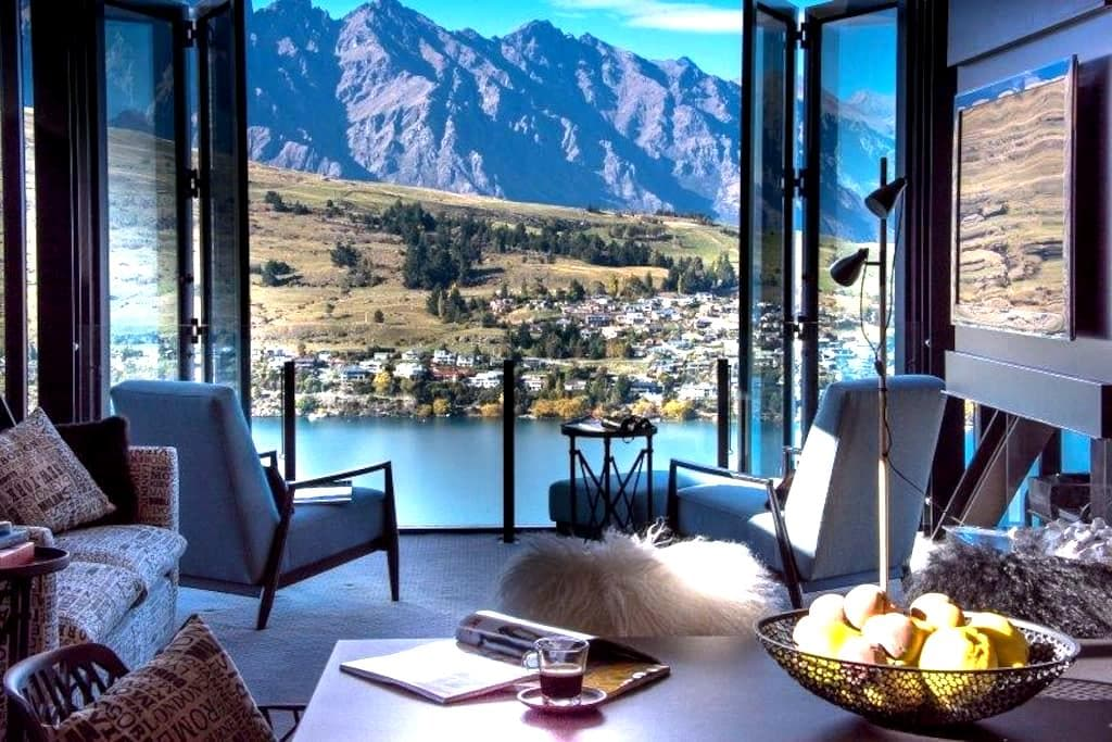 Luxury apartments houses villas in queenstown airbnb for 70 panorama terrace queenstown