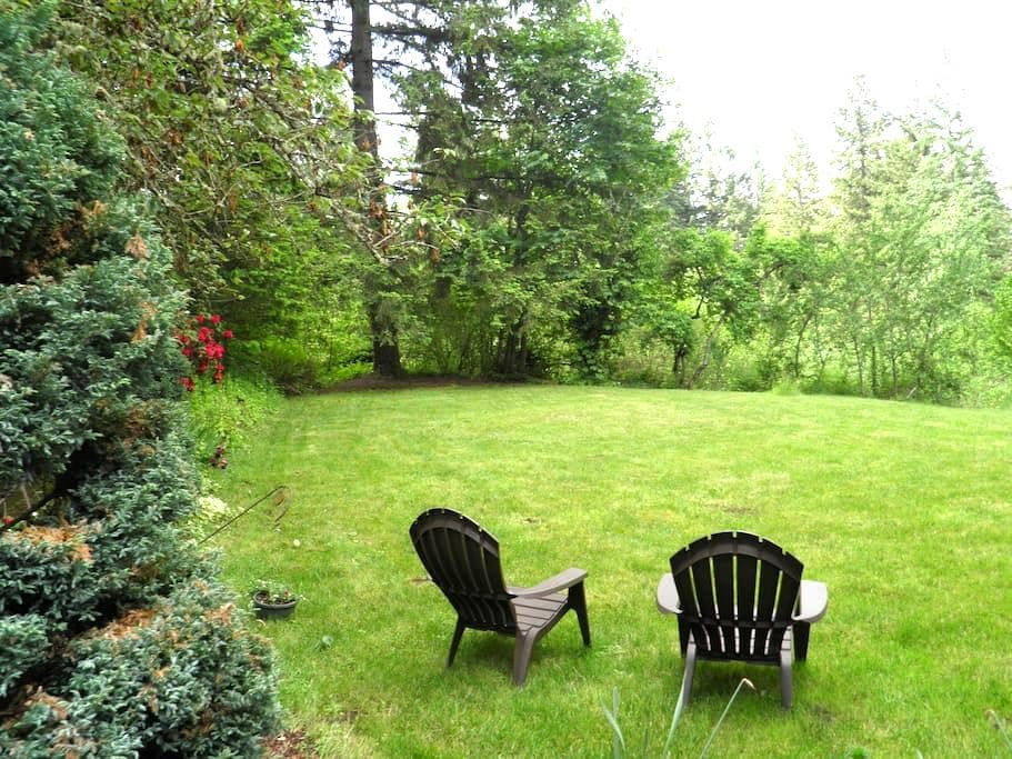 Country Living in a Forest Setting - Estacada - Casa