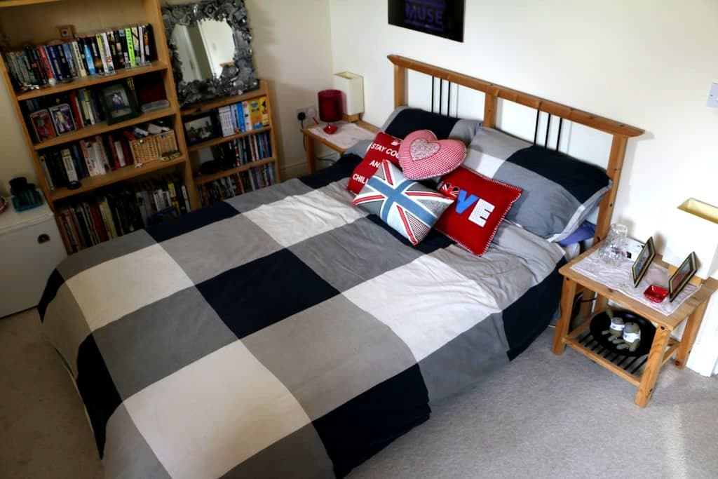 Comfortable double room in Portishead. - Portishead - บ้าน