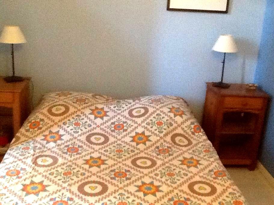 Chbre avc lit 140 dans maison calme - Claix - Haus