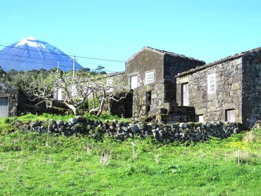 Atafona - facing the sea - S.Roque do Pico - Rumah