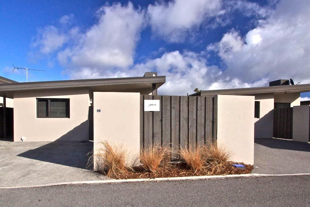 Private Modern, Mountain view Apartment + Spa Pool - Ohakune - Appartement