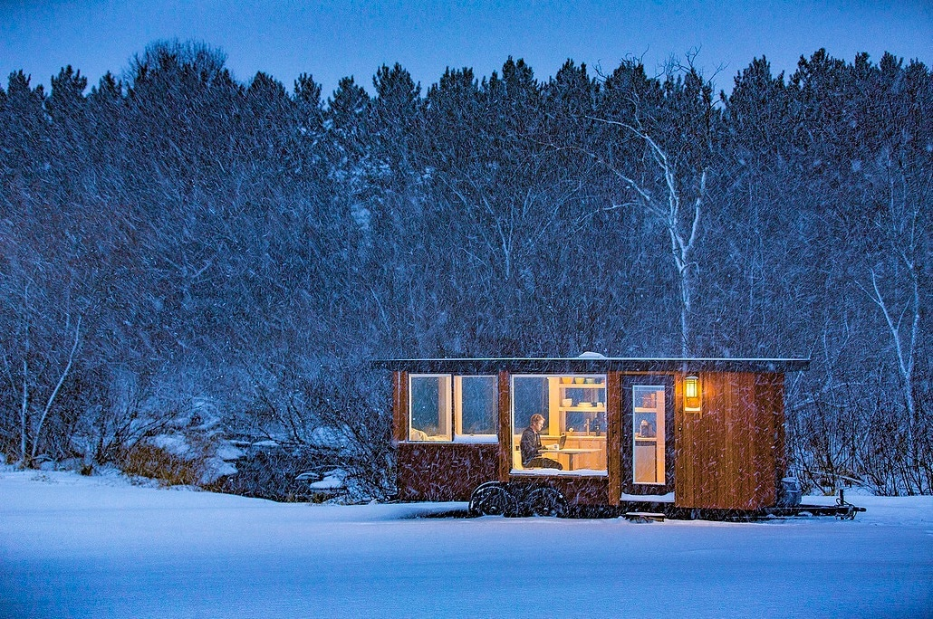 The Glass House A Hudson Valley Tiny Home Escape Cabins for