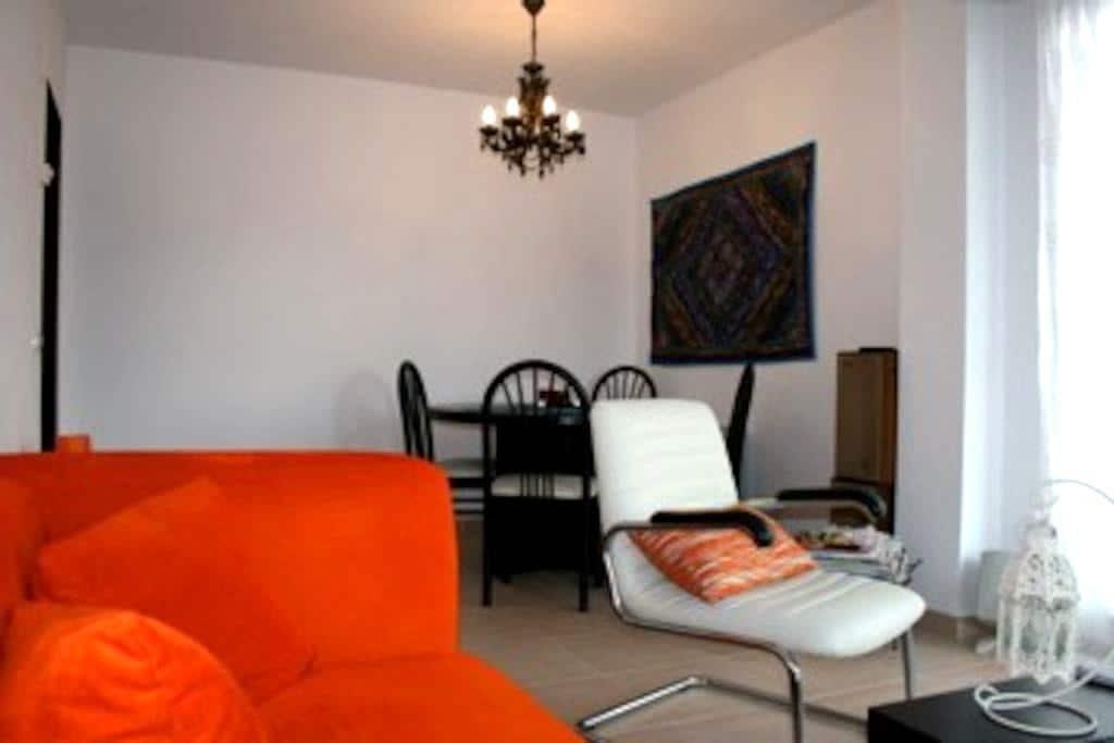 Un piso 60m con vistas y céntrico - Sabiñánigo - Apartamento