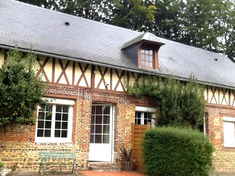 AGREABLE MAISON TRADITIONNELLE A LA CAMPAGNE - Doudeville - ที่พักธรรมชาติ