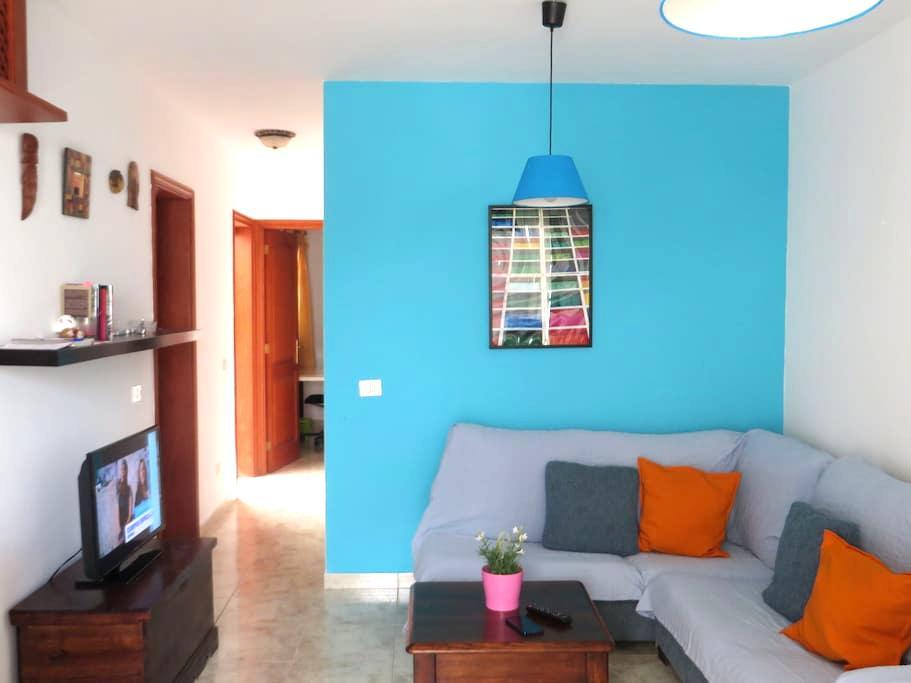 Coqueto apartamento cercano a playa - Caleta de Famara - Apartamento