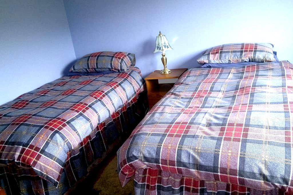 Modern bungalow with en-suite. - Lochcarron - Inap sarapan