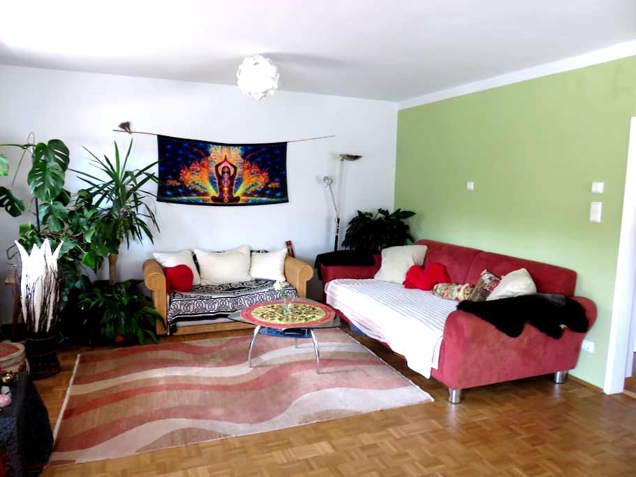 big bright room & a lots of plants - Wien - Apartment