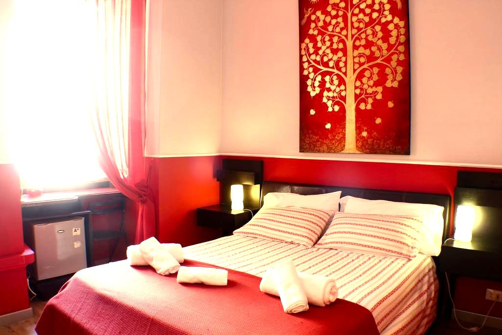 Red Room in Rome, Trastevere area - Rome - Bed & Breakfast