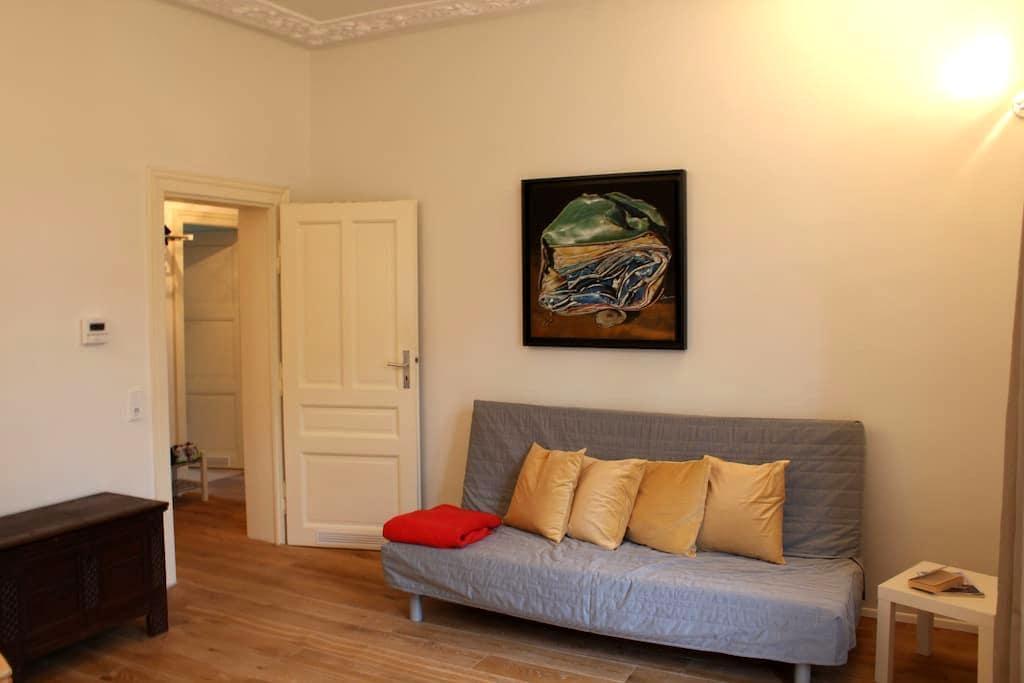 Beautiful refurbished old appt, centrally located - Frankfurt am Main - Apartment