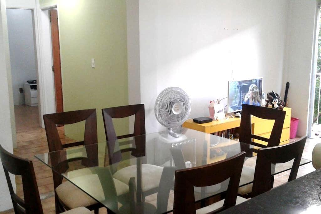 Quarto em apartamento calmo e bem localizado - Manaus - Apartament