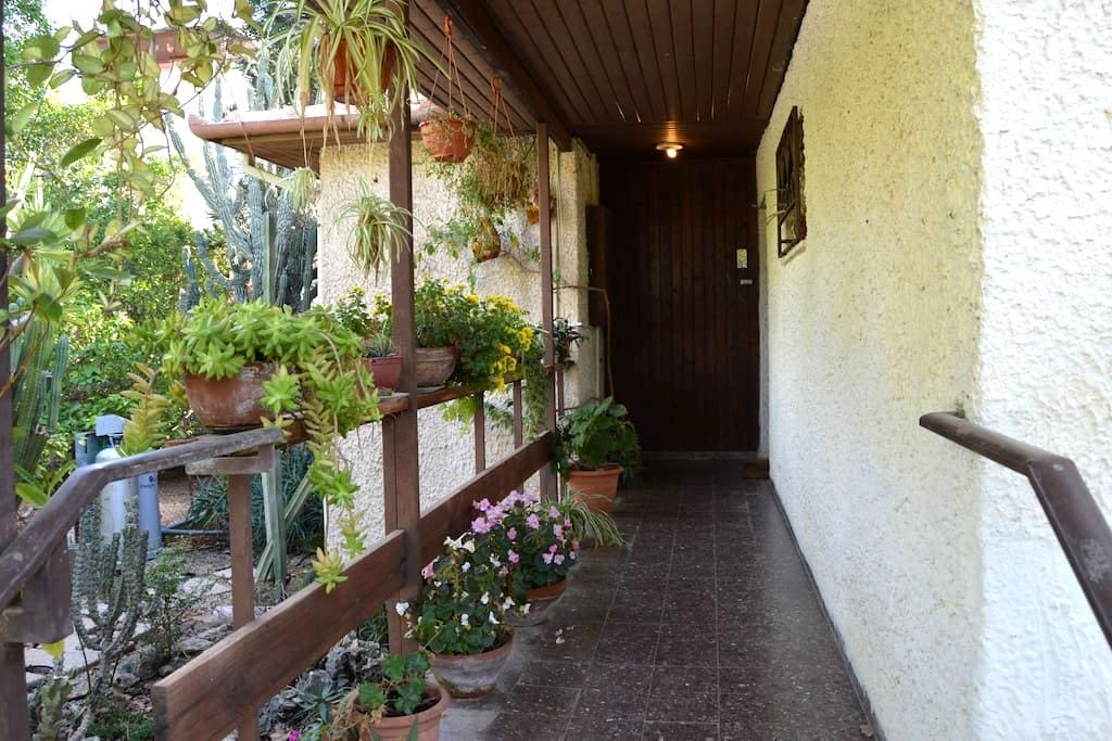 Cozy quiet blooming private house - Rehovot - Casa