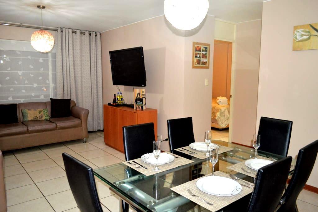2BR APARTMENT - EXCELLENT LOCATION in PUEBLO LIBRE - Pueblo Libre - Apartamento