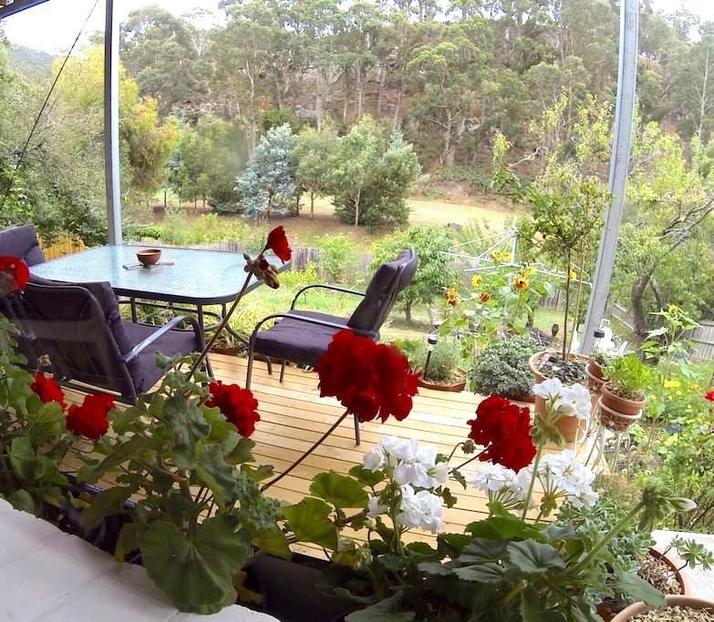 Leafy City Fringe Escape - South Hobart - Appartement