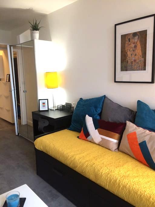 Attractive studio apartment on the edge of Paris - Aubervilliers