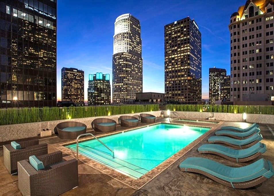 Luxury Downtown LA Apartment with 99% Walk Score - Los Angeles - Flat