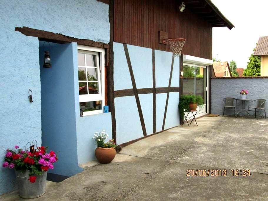 GITE ou B&B en Centre Alsace - Bindernheim - Bed & Breakfast