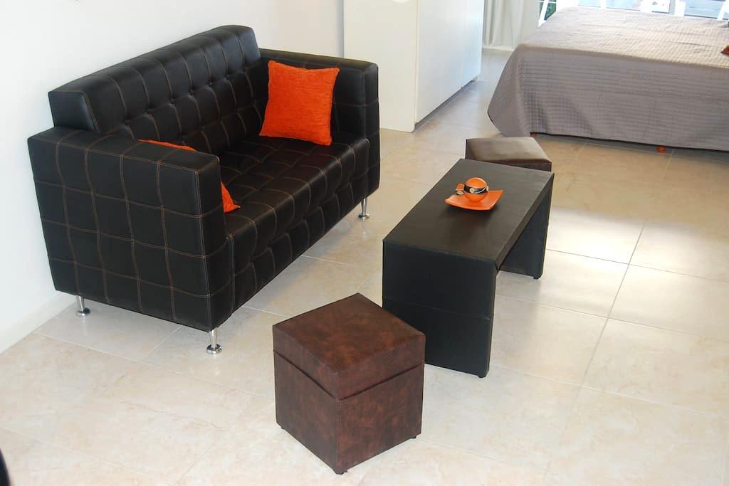 Comfortable Studio - Villa Crespo Palermo Queens - Buenos Aires - Byt