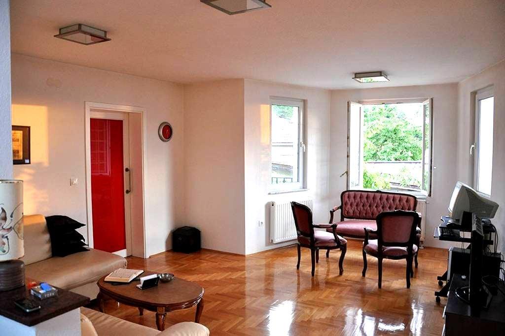 Apartment with beautiful views + garage! - Szarajevó