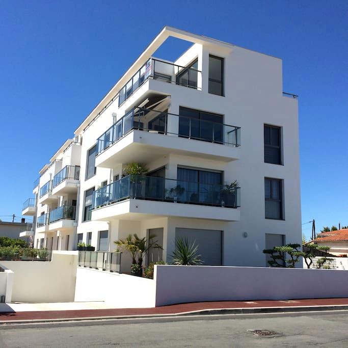 Bel appartement proche centre ville et marché - Royan - Apartament