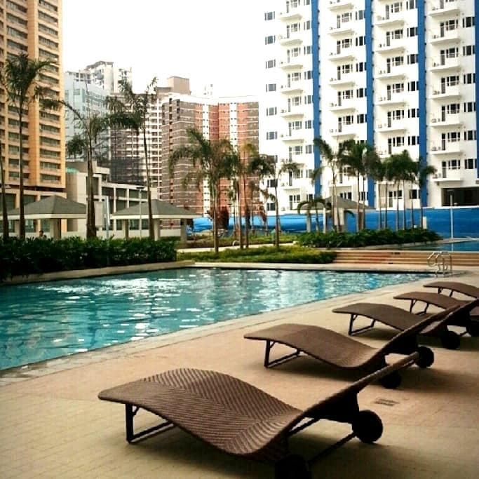 Accessible Clean Cozy Condo To Stay - Mandaluyong - Appartement en résidence