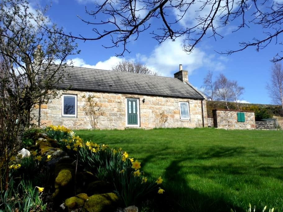 McKerron Cottage, a romantic getaway near Aberlour - Moray - Μπανγκαλόου