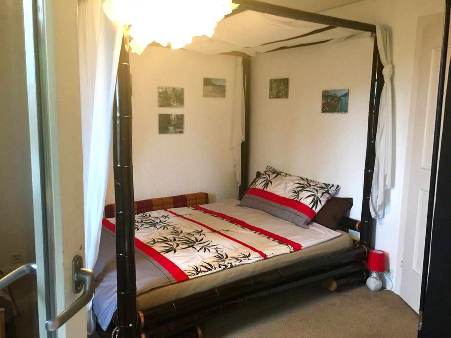 Ein gemütliches Zimmer mit Balkon - Rapperswil-Jona - กระท่อมบนภูเขา
