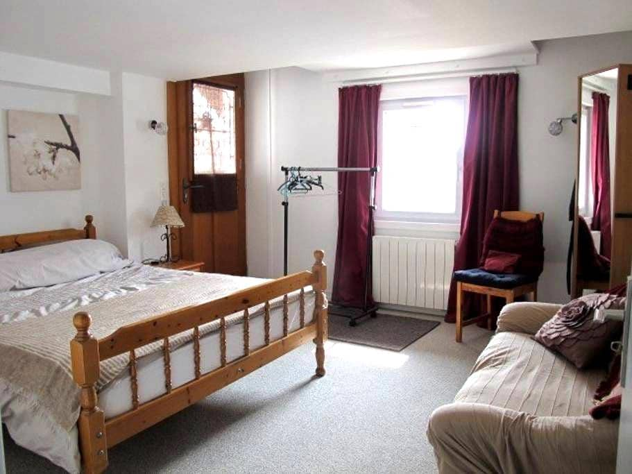 Good-sized double room near Geneva - Prévessin-Moëns
