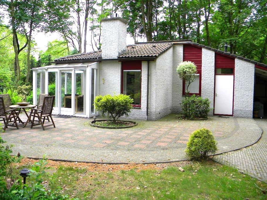 Luxe bungalow in eigen bos (ca 2.000m2)  in Ermelo - Ermelo